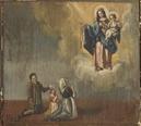 Madonna concede la grazia a una famigliola - P.G.R - XVIII sec.