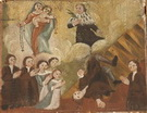 I famigliari ringraziano la Madonna e un Santo per aver salvato un congiunto da una rovinosa caduta dal tetto.